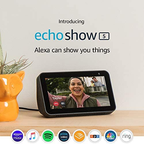 Echo Show 5 – stay connected and in touch with Alexa - Charcoal