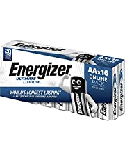 Energizer Batterijen AA, Ultimate Lithium, 16 stuks