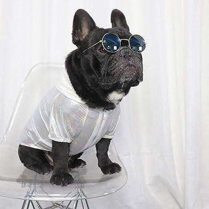 FGDSSE Ropa para Perros Cachorro Protección Solar Sudadera ...
