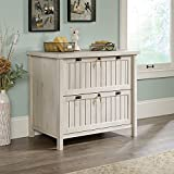 decorative file cabinets - Sauder Costa Lateral File in Chalked Chestnut