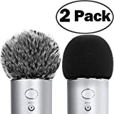 ChromLives Microphone Cover for Blue Yeti Furry