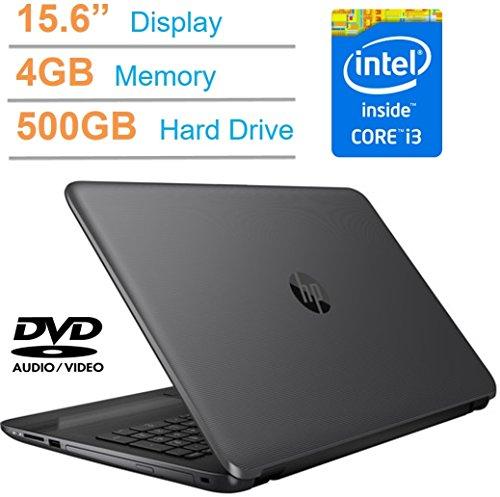 Price comparison product image HP 15.6-inch HD SVA LED Backlit Display (1366 x 768) Laptop PC, Intel i3-5005U, 4GB Memory, 500GB 7200RMP HDD, Intel HD graphics 5500, HDMI, DTS Studio Sound, DVD +/- RW, Windows 10 Professional