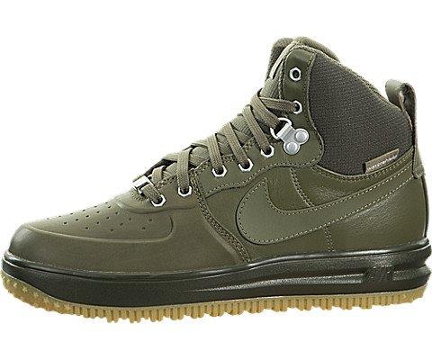 Nike Lunar Force 1 SneakerBoots (Kids) Green by Nike (Image #5)