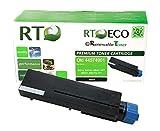 Renewable Toner  Okidata 44574901 Toner (10K Page Yield) Compatible Black Toner Cartridge for Oki Laserjet Printers: B431, B431d, B431dn, MB461 MFP, MB471, MB471w, 471