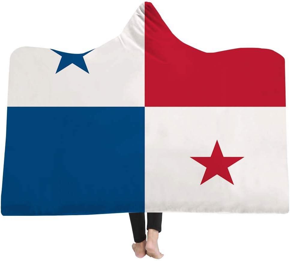 ahliwei Manta De La Capucha Cubo Manta Mágica Manta Más Grueso Doble Felpa 3D Serie De La Bandera De Impresión Digital Se Puede Personalizar 150x200 Panamá: Amazon.es: Hogar