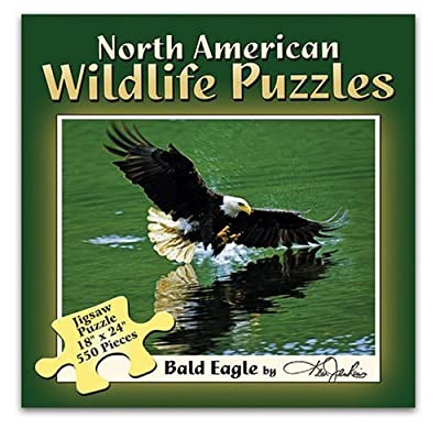 North American Wildlifwe Puzzles Bald Eagle by Ken Jenkins: Toys & Games