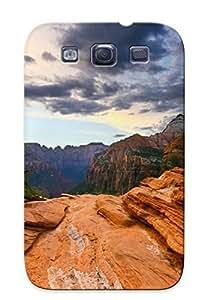 Graceyou Slim Fit Tpu Protector Abu154IccTk Shock Absorbent Bumper Case For Galaxy S3