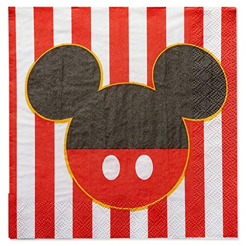 - Mickey Mouse Classic Party Lunch Napkins - 16 Count