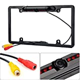 Cheap Car License Plate Frame,Movement Fashion 170° Viewing Angle IP67 Waterproof Night Vision Backup Rear View Camera with 8 IR LED – Black