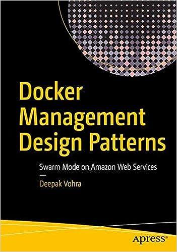 amazon docker management design patterns swarm mode on amazon web