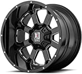 XD Series by KMC Wheels XD825 BUCK 25 BLACK Wheel Chromium (hexavalent compounds) (20 x 9. inches /6 x 106 mm, 0 mm Offset)