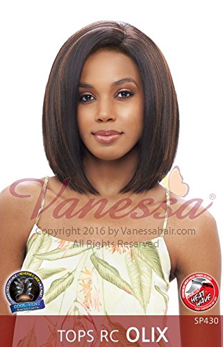 TOPS RC OLIX (BT4007) - Vanessa Synthetic Reverse C Side Part Lace Front Wig