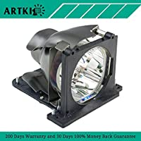 2100MP Replacement Projector Lamp with Housing for Dell 2100MP Projector (By Artki)