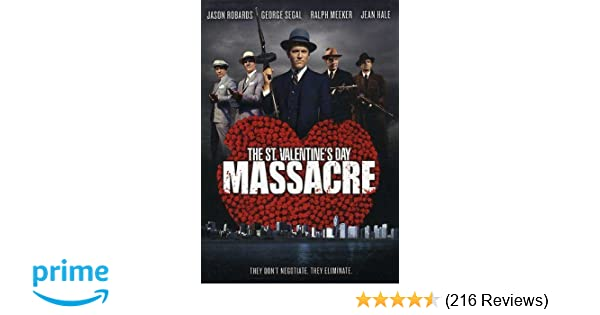 Amazon Com St Valentine S Day Massacre The Jason Robards George