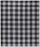 Stone & Beam Casual Plaid Rug, 5' x