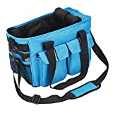 Dog Carrier Pet Airline Approved Cat Travel Bag with Fleece Mat Pet Carrier Durable for Small Dogs Cats Puppies Kittens Rabbits - Blue