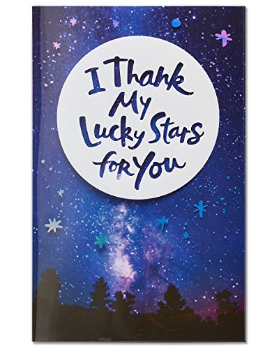 American Greetings Lucky Stars Birthday Card with Foil (Star Card Birthday)