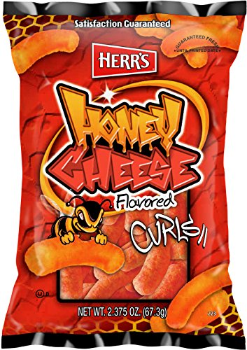 Herr's Honey Cheese Curls, 2.375 Ounce (Pack of 20) ()