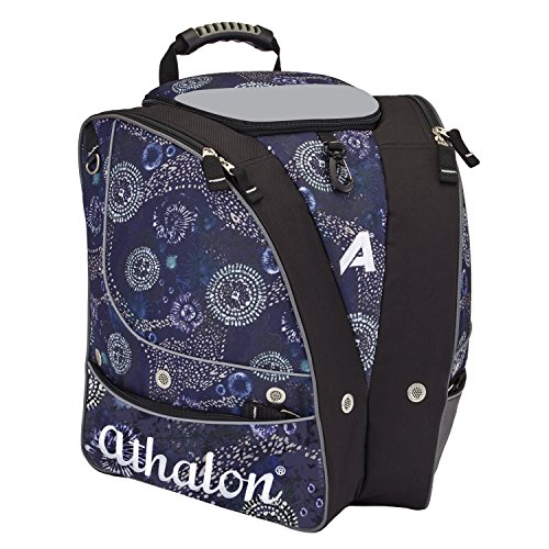 Athalon PERSONALIZEABLE ADULT BOOT BAG/BACKPACK - SKI - SNOWBOARD - HOLDS EVERYTHING - (BOOTS, HELMET, GOGGLES, GLOVES)