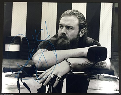 """RYAN HURST """"OPIE WINSTON"""" SIGNED SONS OF ANARCHY 11X14 PHOTO AUTOGRAPH PROOF J2"""