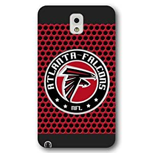 UniqueBox Customized NFL Series Case for Samsung Galaxy Note 3, NFL Team Atlanta Falcons Logo Samsung Galaxy Note 3 Case, Only Fit for Samsung Galaxy Note 3 (Black Frosted Shell)