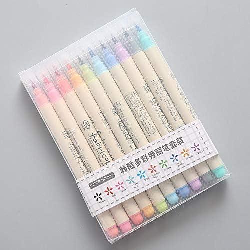 lápices de color Plumas Cepillo de doble Acuarela dyvicl-Marcadores de arte con punto fino Bolígrafos