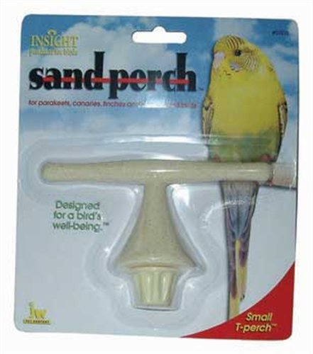 - JW Pet Company Insight Sand Perch T Perch Bird Accessory, Small, Colors Vary