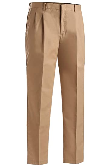 bb1433c7409 Edwards Garment Men s Tall Business Casual Chino Pleated Pant at Amazon Men s  Clothing store