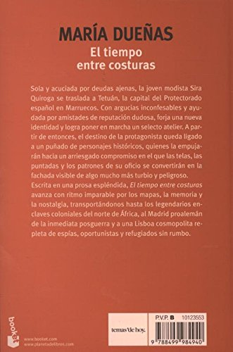 El tiempo entre costuras (Verano 2015): Amazon.es: Dueñas, María ...