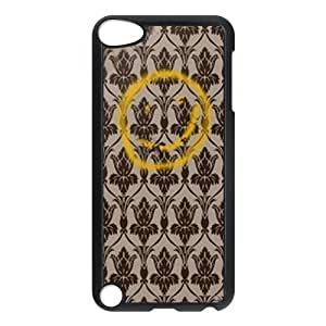 CTSLR TV Show Sherlock Hard Case Cover Skin for iPod Touch 5 5G 5th Generation- 1 Pack - Black/White - 3-Perfect Gift for Christmas