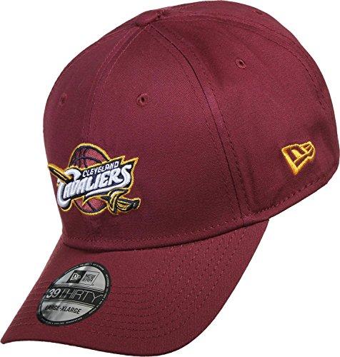A NEW ERA NBA Cleveland Cavaliers Team 39THIRTY, gorra para hombre granate