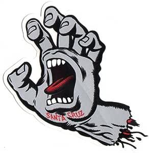 Amazon.com : Santa Cruz Screaming Hand Skateboard Sticker
