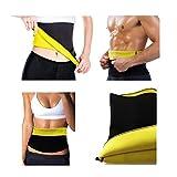 Unisex Hot Neoprene Waist Slimming Fitness Belt by JERN (Sport, Shapewear, Tummy Trimmer Girdle) - Large