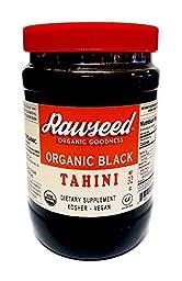 Rawseed Organic Black Tahini 32 oz Vegan - Gluten Free - Non Gmo