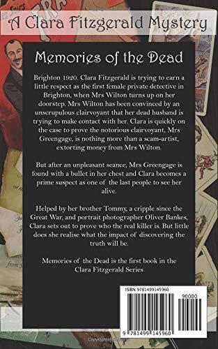 Memories of the Dead: A Clara Fitzgerald Mystery: Volume 1 The Clara Fitzgerald Mysteries: Amazon.es: Evelyn James: Libros en idiomas extranjeros