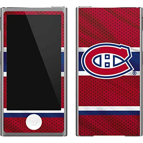 (Skinit NHL Montreal Canadiens iPod Nano (7th Gen&2012) Skin - Montreal Canadiens Home Jersey Design - Ultra Thin, Lightweight Vinyl Decal Protection )