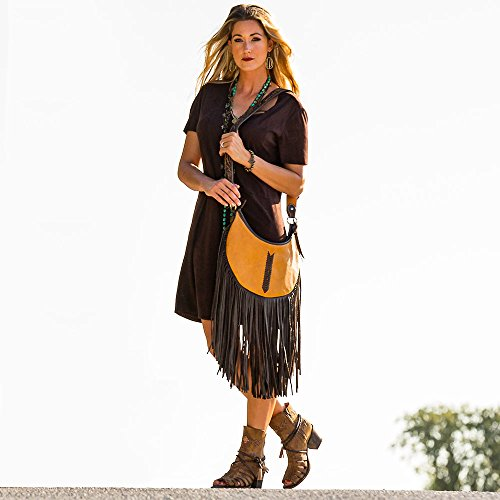 Womens NRS Crean J Hobo With Buckskin Double Stitching Bag qPWPzdwO4