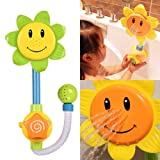 Sunflower Water Flow Spray Shower Head Baby Kids Toddler Bath Play Bathing Toys by Completestore