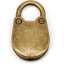 Old Vintage Antique Style Mini Padlocks Key Lock (Lot of 3), Jewelry Findings, Arts, Crafts & Sewing