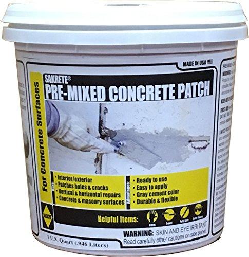 (KETER North America 60205045 Quart Pre-Mixed Concrete Patch)