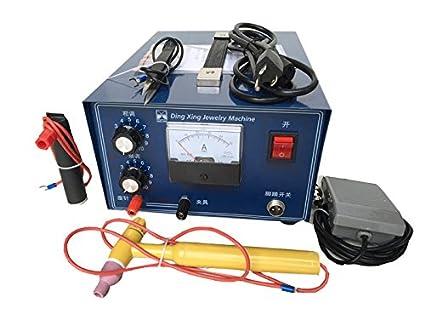 dx-50 a joyería punto láser máquina de soldadura soldador 500 W 50 A oro