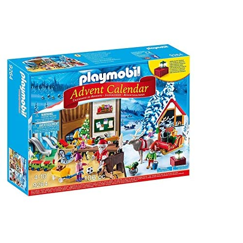 51kb2mnIdcL. SS500 Una calendario de adviento de juguete 24 ventanas con 24 sorpresas Temática taller de navidad