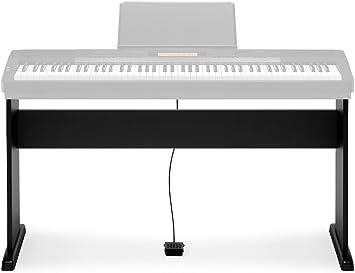 Casio CS-44PC5 - Soporte para teclado electrónico (plástico), color negro - Casio: Soporte teclado CS 44 PH7: Amazon.es: Instrumentos musicales