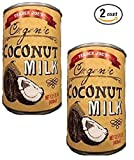 Trader Joe's Organic Coconut Milk NET 13.5 FL OZ (400ml) - 2-Pack