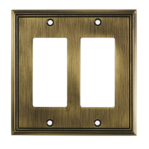 Switch Style Decora (Richelieu Hardware Contemporary Style 2 Decora Switch Plate, 4.84