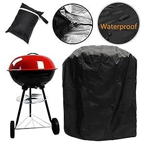 F Fellie Cover Copertura Barbecue, Impermeabile Telo Protettivo per BBQ Grill, con Coulisse e Fermagli, Tessuto Oxford… 1 spesavip