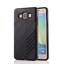 MOONCASE Galaxy A5 Case Hybrid Armor Tough Rugged [Anti Scratch] Dual Layer TPU +PC Frame Protective Case Cover for Samsung Galaxy A5 (2015) Black