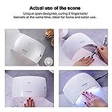 SUNUV 24W UV Light LED Nail Dryer Curing Lamp for