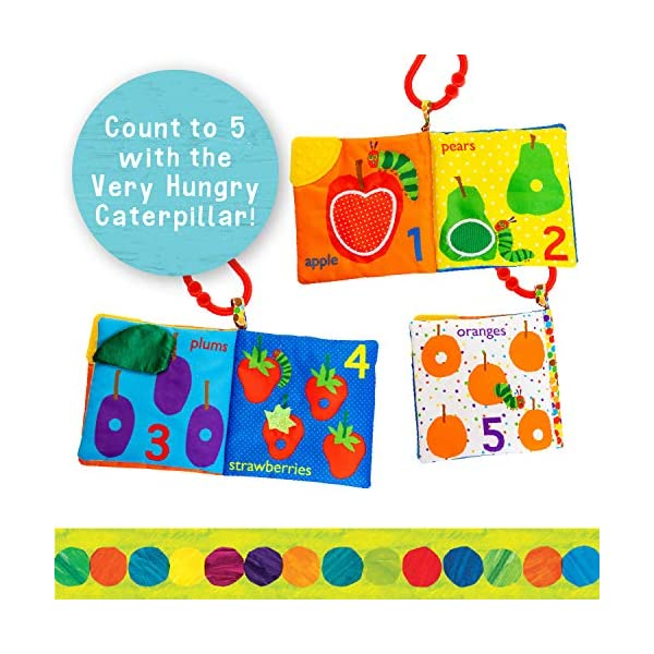 Lets Count Soft Book World of Eric Carle