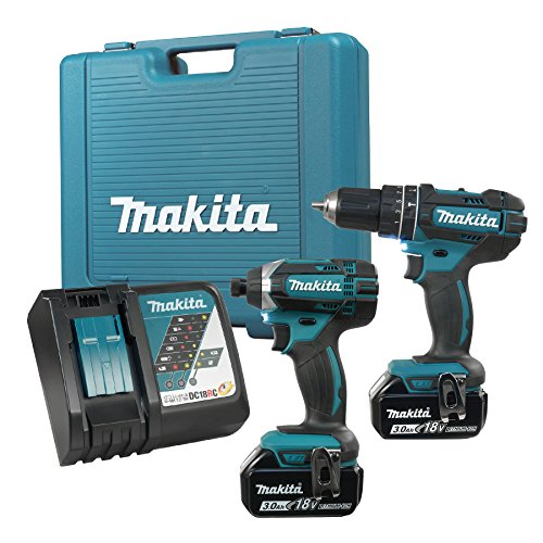 makita lxt211 18-volt lxt lithium-ion cordless 2-piece combo kit ...